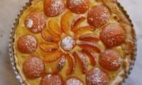 Tarte aux abricots vanille sans gluten