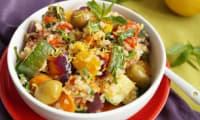 Salade de boulghour et légumes rotis