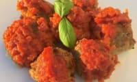 Boulettes d'aubergine à la feta