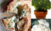 Quiche aux chou-fleur et brocoli