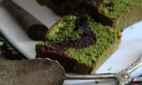 Cake choco matcha