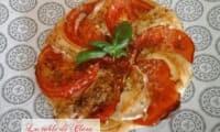 Tartelettes fines tomates et chèvre