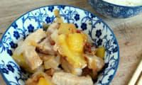 Porc sauté à l'ananas et au miel