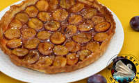 Tarte quetsches cannelle