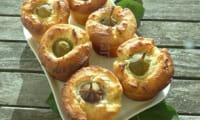 Gâteaux moelleux aux figues et à la ricotta