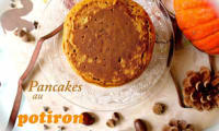 Pancakes au potiron et épices d'automne