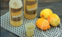 Limoncello maison, liqueur de citron
