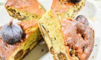 Gâteau moelleux figues et vanille