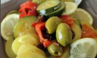 Tajine de légumes du soleil aux olives et au citron