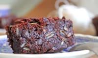Brownie tuerie aux graines de courge & sésame