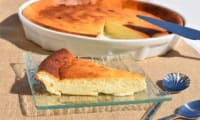 Flan léger au fromage blanc