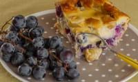 Clafoutis aux raisins et au limoncello