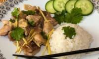 Poulet au gingembre vietnamien