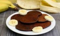 Pancakes à la banane et cacao