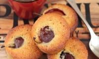 Petits gâteaux aux miel, épices et quetsches