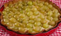 Tarte raisins amandes mascarpone
