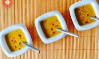 Velouté de citrouille au lait de coco et curry