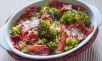 Gratin de brocolis à l'italienne
