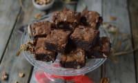 Brownies à l'huile d'olive et aux noix