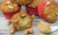 Muffins aux cacahuètes