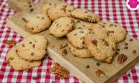 Cookies aux pépites de chocolat au lait et noix de pécan