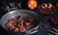 Yeux de zombie rose litchi
