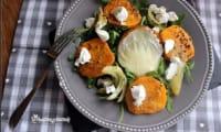 Salade de courge butternut et chèvre