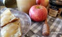 Apple curd végétalien