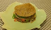 Burger breton au crabe