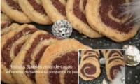 Biscuit Spirale amande-cacao