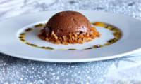 La marquise au chocolat noir, fruits de la passion