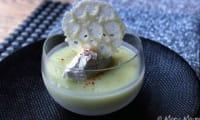 Crème de panais, tuile au parmesan