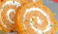 Biscuit roulé à la tomate et au chèvre