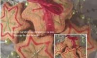 Biscuits Etoiles de noël au pralin et épices de noël