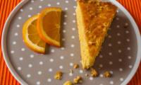 Gateau aux amandes et à l'orange