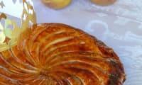 """Galette des rois des """"oursons"""" : poires, noisettes et miel"""