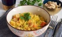 Salade de potiron épicée