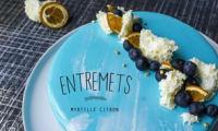 Entremets Myrtille Citron