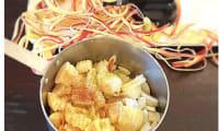 Compote de pommes à la cannelle et Bergamote