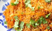 Vermicelles de haricot mungo aux carottes
