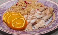 Daurade au four à l'orange