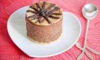 Brioche et mousse chocolat caramel