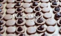 Macarons au chocolat et miel