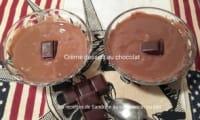 Crème au chocolat sans oeuf, onctueuse et rapide à réaliser