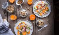 Salade de riz orange et avocat