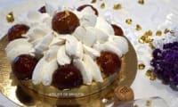 Saint-Honoré au caramel beurre salé