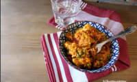 Riz à l'espagnole au poulet