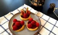 Tartelettes aux fruits minute