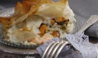 Petites pastillas aux fruits de mer et au citron confit