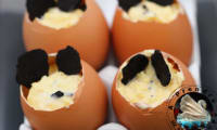 Coquilles d'œufs brouillés à la truffe